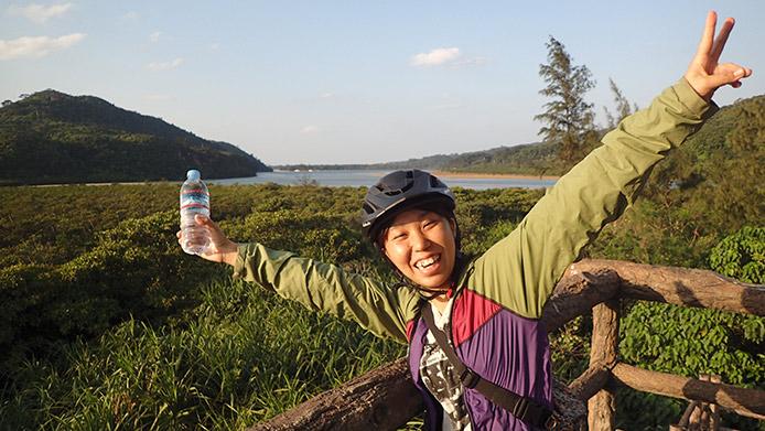 浦内川のマングローブ林